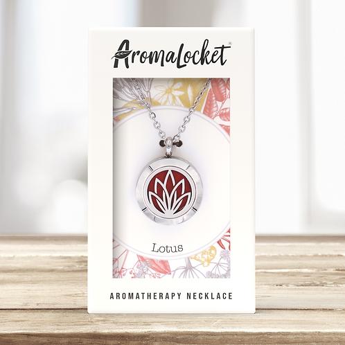 Lotus Diffuser Necklace (Mini)