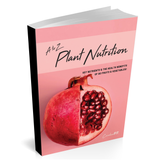 A to Z Plant Nutrition eBook | CarolineFIT