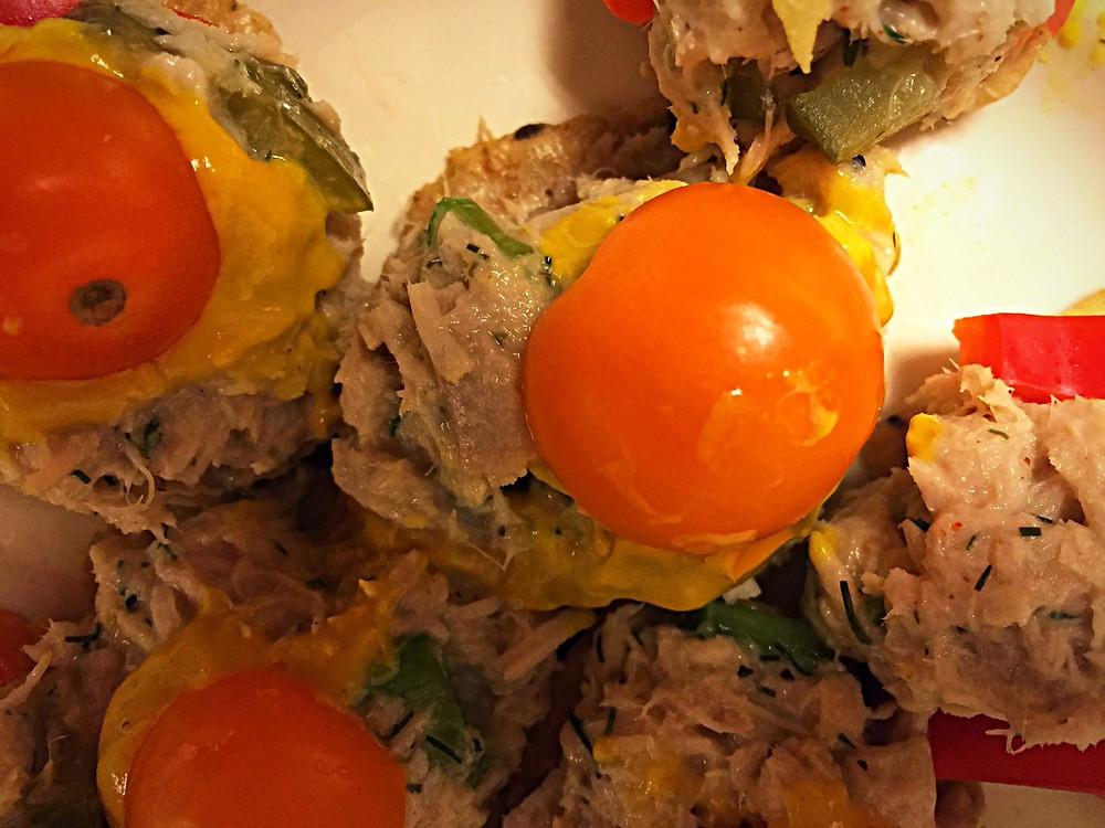 Caroline's Tuna Snacks | CarolineFIT