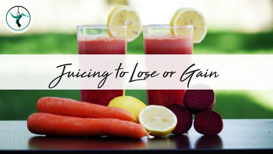 Juicing to Lose or Gain | CarolineFIT