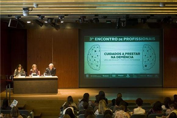 """3º Encontro de Profissionais """"Cuidados a Prestar na Demência – uma abordagem prática integrada"""""""