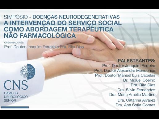 """Coordenadora do Cuidar Melhor participa no Simpósio """"Doenças neurodegenerativas: A intervenção do serviço social como abordagem terapêutica não farmacológica"""""""