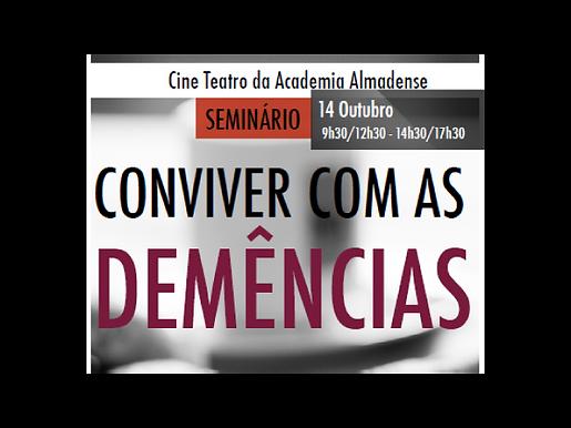 """Cuidar Melhor no seminário """"Conviver com as Demências"""""""