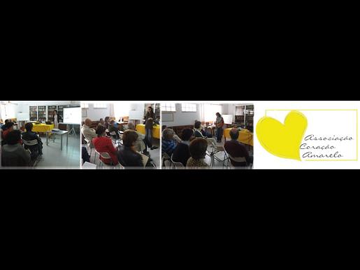 Parceria com a Delegação do Cacém da Associação Coração Amarelo