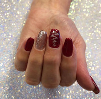 Red Sparkle Gel Manicure .jpg