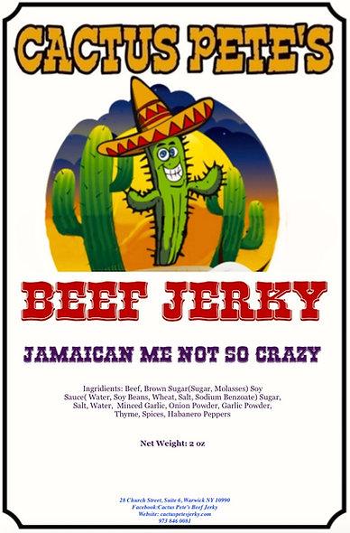 Jamaican Me NOT So Crazy (2 oz)