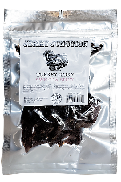 Turkey Jerky- Sweet & Spicy
