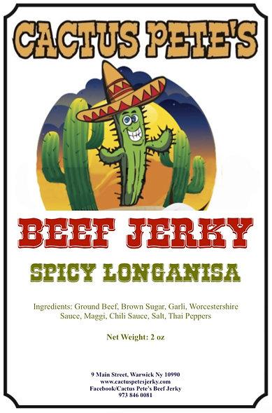 Spicy Longanisa (2 oz)