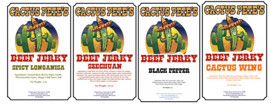 Spicy Jerky Flavors