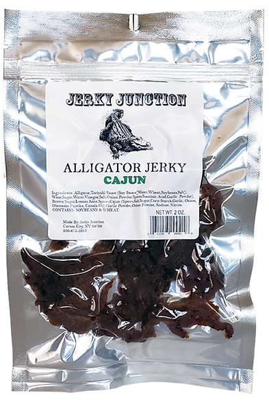 Alligator Jerky (Cajun)