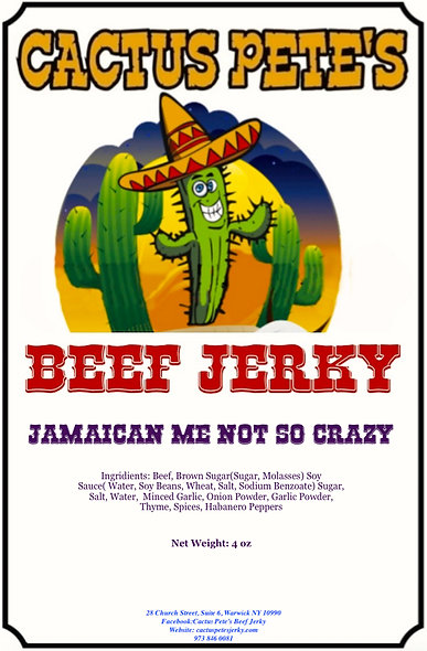 Jamaican Me NOT So Crazy (1 Pound)