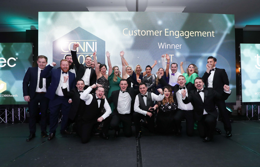 10B Lo Customer Engagement winner BT pre