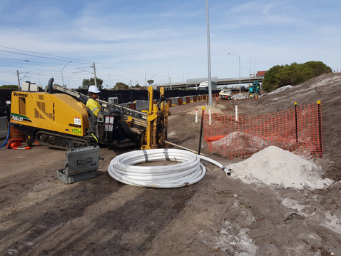 20x22 Drilling alond the freeway