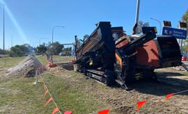 JT25 Drilling at Perth Airport