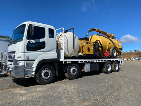 New Fitted out Vac Extract Truck