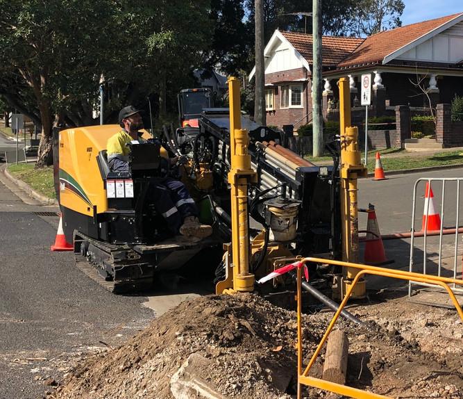 40x45 Drilling NBN in Sydney