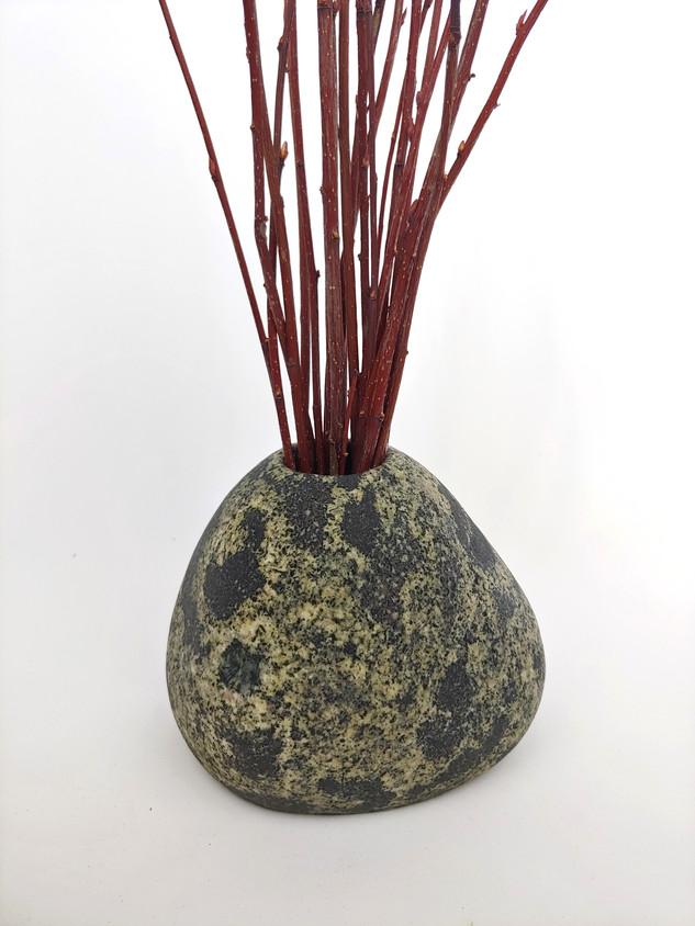 Natural Beach Stone Vase