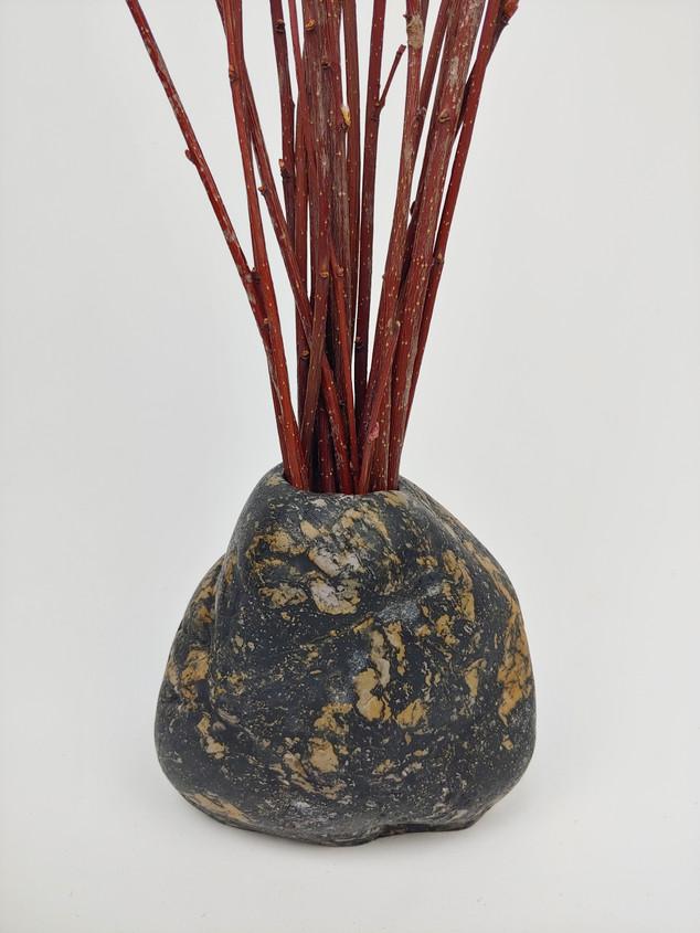 Rustic Stone Vase
