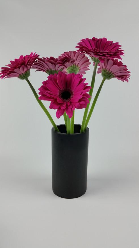 Honed Basalt Vase