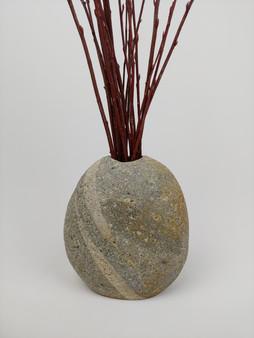 Rustic Granite Vase