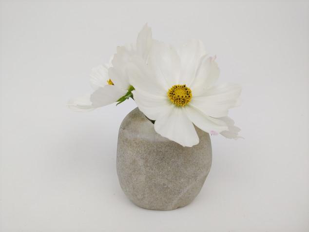 Small Stone Bud Vase