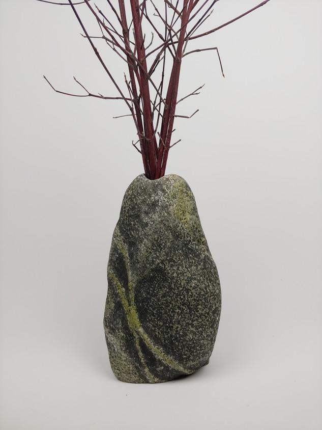 Large Beach Stone Vase