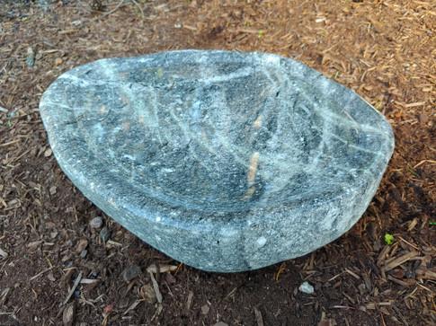 Natural Stone Bird Bath