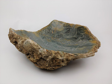 'Turbulence' Stone Bowl