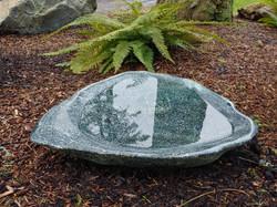 Large Polished Granite Bird Bath