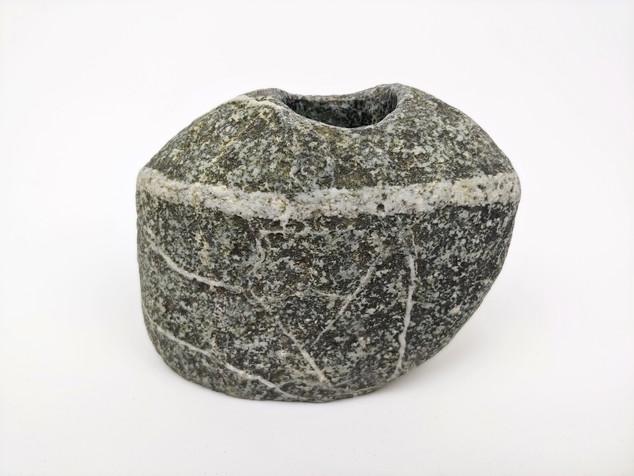 Rustic Beach Stone Vase