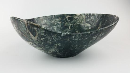 Winter Evergreen Stone Bowl