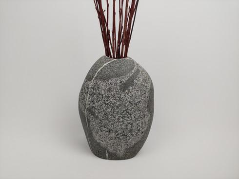 Large Granite Vase