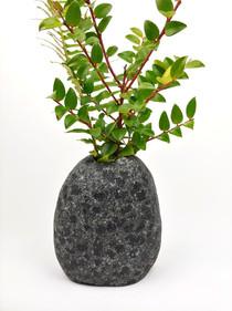 Tumbled Beach Stone Vase