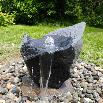 Black Granite Fountain