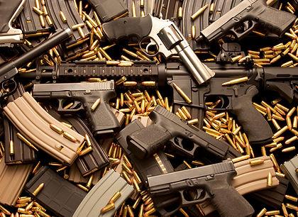 Pistlos, revolvers, ammo, rifles, shotguns,