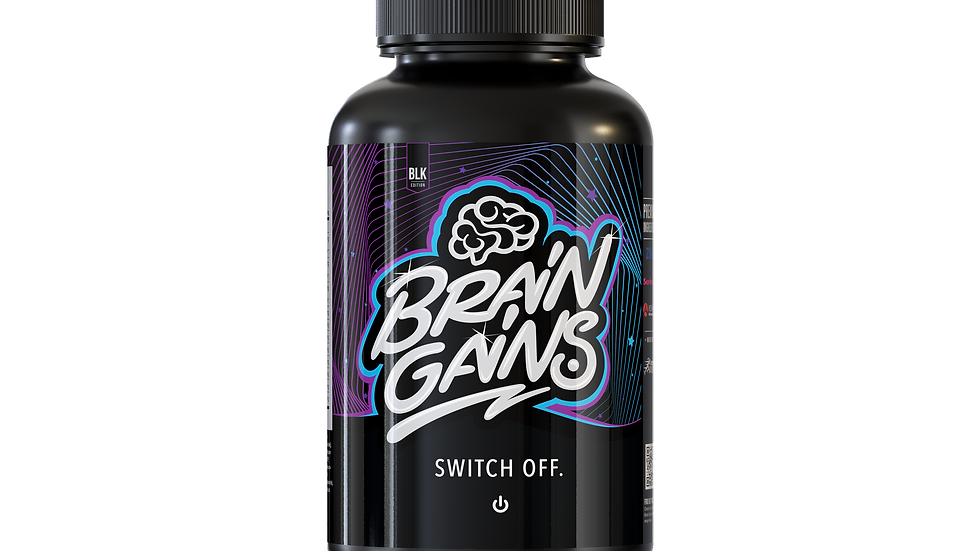 SWITCH OFF CAPSULES / BLACK EDITION