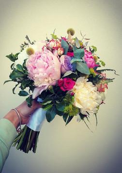 Bright Rose Bridal Bouquet