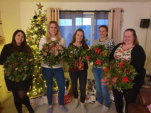 wreath making 2020