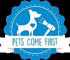 Dog Groomer Logo Blue