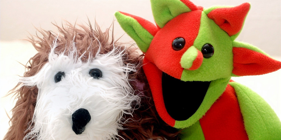 Kingston Library Puppet Story Time - Live on Zoom!