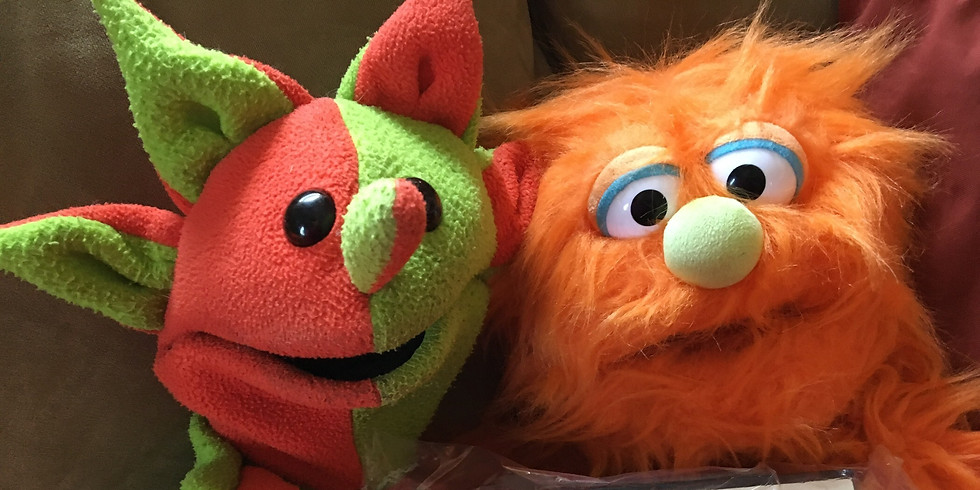Hull Library Puppet Story Time (7/24/19)