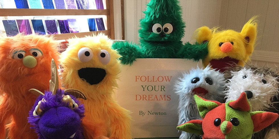 Puppet Story Time in Hull [**IN-PERSON SHOW**]