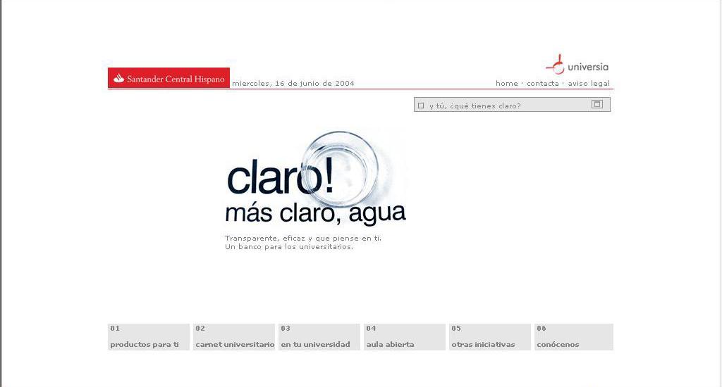 Santander Universidades: home.