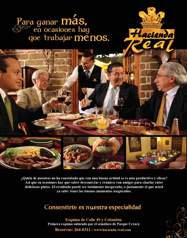 Restaurante Hacienda Real. Negocios.