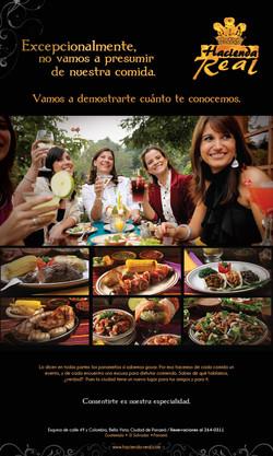 Restaurante Hacienda Real.