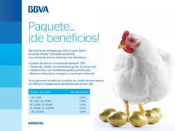 BBVA - paquete de beneficios.