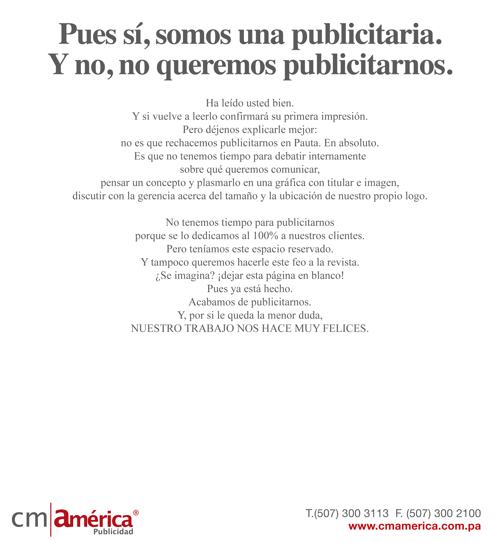 CM América - Revista Pauta #1.