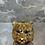 Thumbnail: Tiger – Weihnachtsanhänger – Gold