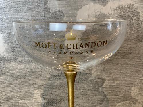 6er SET MOËT & CHANDON - Champagner Kelche - Gatsby