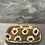 Thumbnail: Glasfaser-Tablett - Klein - Kreis Braun-Schwarz-Weiß